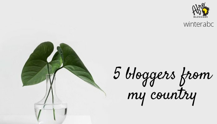 5 Bloggers in MyCountry